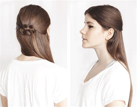 Celtic Hairstyles by Tutorial The Celtic Knot Hairstyle Thefashionfraction