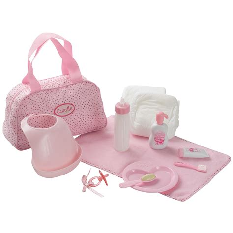 baby doll accessories play set
