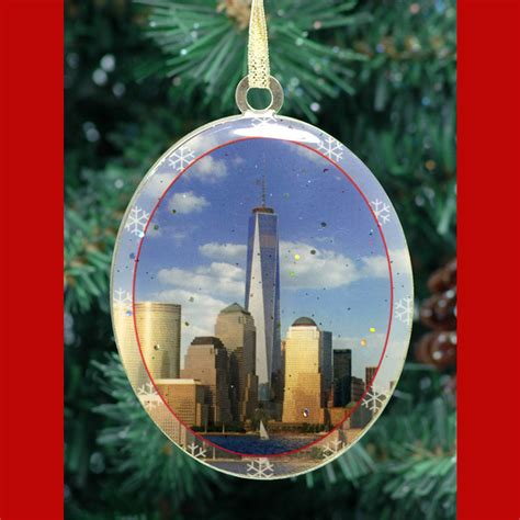 1wtc freedom tower ny christmas ornament ny christmas