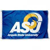 angelo state rams angelo state rams flag at college flags and banners co