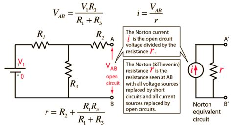 resistors in series hyperphysics application of norton s theorem to a circuit yields equivalent crazyengineers
