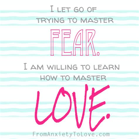 why am i scared your fears and learn to let them go books a course in miracles quote board from anxiety to