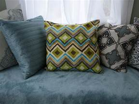 How To Make Decorative Pillows Without Sewing by How To Make Throw Pillows Without Sewing Diy