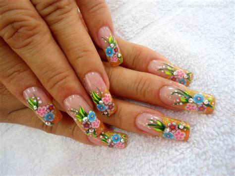 imagenes de uñas en acrilico decoradas conozca el peligro de las u 241 as acr 237 licas