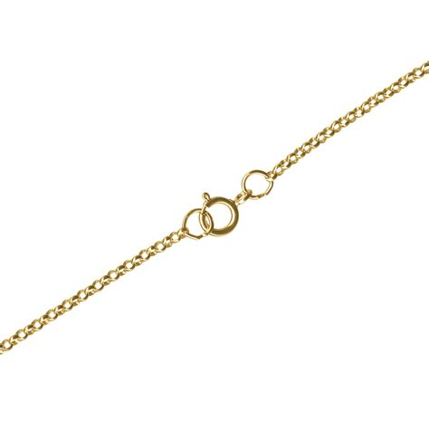 how to make gold filled jewelry 1 20 12kt gold filled rolo chain necklace 18 quot 1 4mm