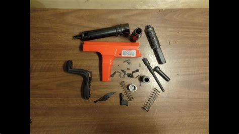 Ramset Hilti assembling a hilti dx 350 ramset cobra 27 caliber 10 semi automatic tool