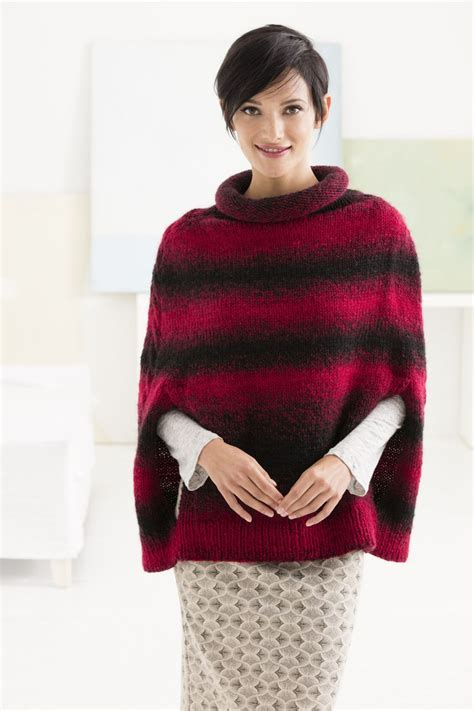 poncho pattern knitting yarn 523 best a knit poncho cape patterns images on
