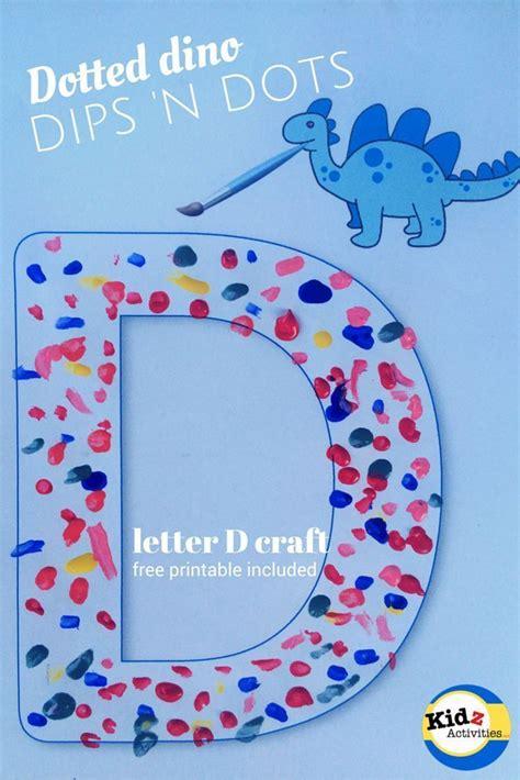 Letter D Crafts For Preschoolers