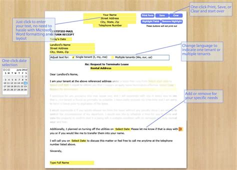 Lease Breakage Letter Format Breaking Lease Letter Levelings