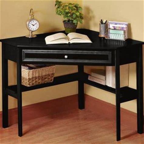 oxford 50 inch black one drawer corner from