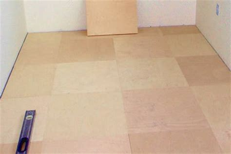 Plywood For Tiling Floors by Plywood Floor Tiles Gardenopolis