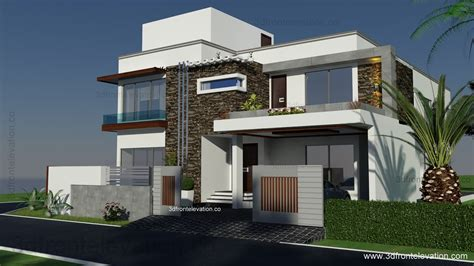 home design 500 sq yard 3d front elevationcom 500 square yards house plan 3d