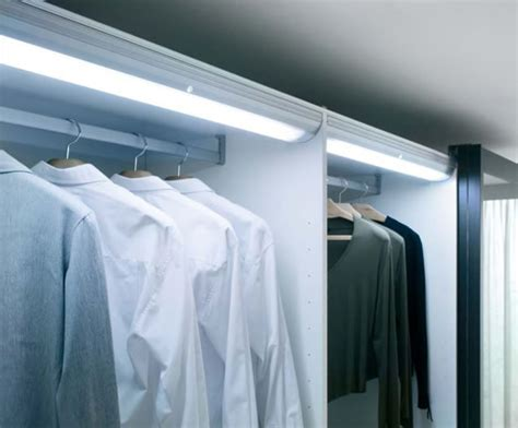 Wardrobe Lighting by Wardrobe Sensor Light Sycamore Lighting Esi Interior