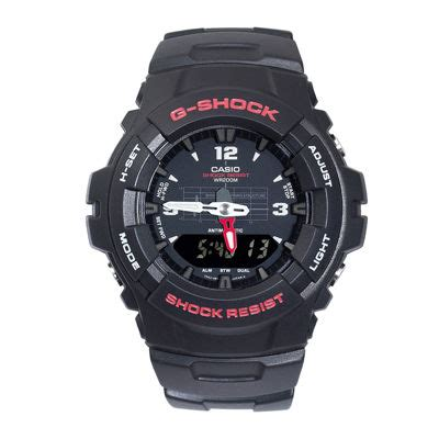 Casio G Shock Ga 100 Glx 150 casio g shock classic mens analog digital g100 1bv