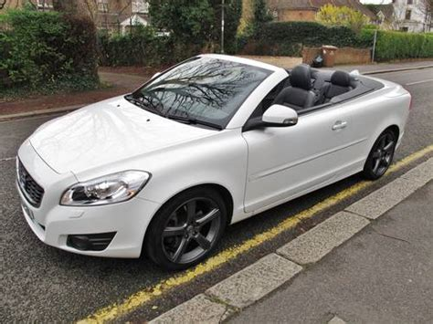 automotive air conditioning repair 2009 volvo c70 head up display volvo c70 d3 se lux convertible 2011 38k fsh white 1 owner sold on car and classic uk c687585