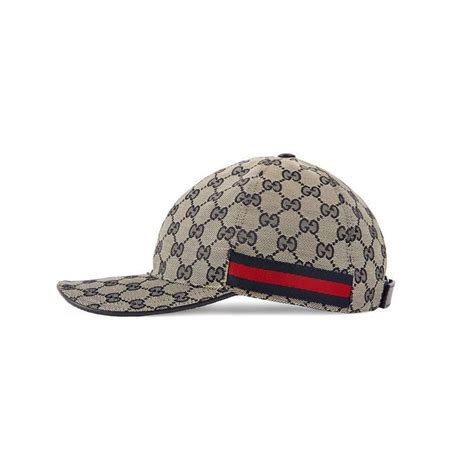 gucci gg canvas baseball hat for lyst