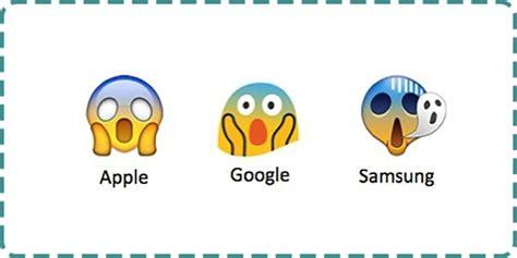 emoji unik unik 9 emoji ini punya bentuk beda di setiap merk ponsel