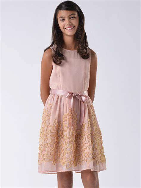 8 Pretty Blush Coloured Clothes by Blush Us Pink Foil Chiffon Dress Size 7