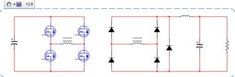 diodes in parallel problems diodes bridge converter rectifier kicks electrical engineering stack exchange