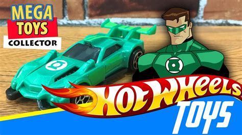 Hotwheels 164 Green Lantern mcdonalds toys 2016 quot green lantern hotwheels car quot happy meal unboxing