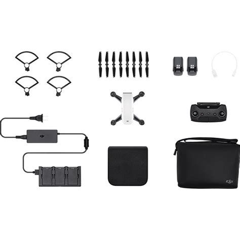 A3680 Dji Spark Fly More Combo dji spark fly more combo alpine white cp pt 000899 b h photo
