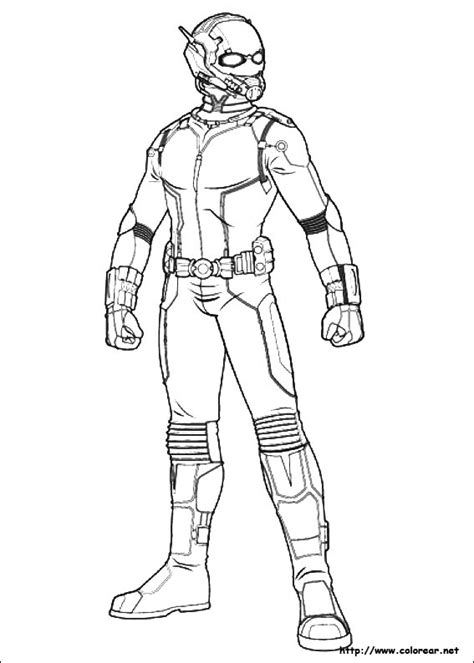 antman coloring coloring pages