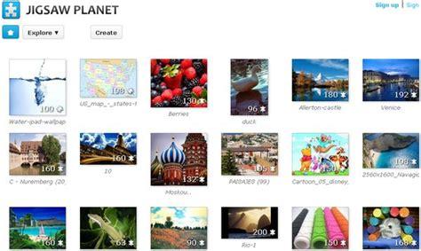 crea tus fondos abstractos con una herramienta online jigsaw planet crea juegos de rompecabezas con tus