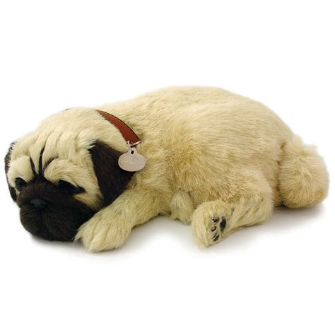 breathing puppy precious petzzz pug lifelike breathing puppy 59460