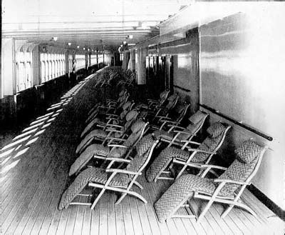 rearranging deck chairs on the titanic idiom stewart bale collection liverpool museums