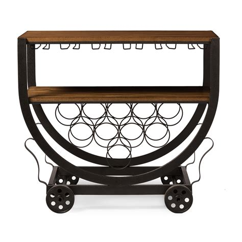 Rolling Bar Steunk Rolling Bar Cart Modern Furniture Brickell