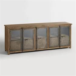 metal storage cabinet large wood and metal langley storage cabinet world market