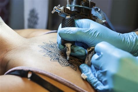 tattoo artists make can getting a tattoo make you healthier tlcme tlc