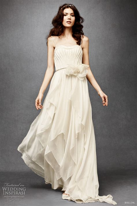 bhldn vintage inspired wedding dresses gowns bhldn wedding dresses 2011 wedding inspirasi