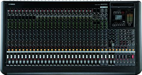 Daftar Mixer Yamaha 32 Channel yamaha mgp32x 32 channel 4 mixing console
