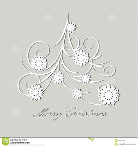 stilisierter weihnachtsbaum stockbilder bild 29841454