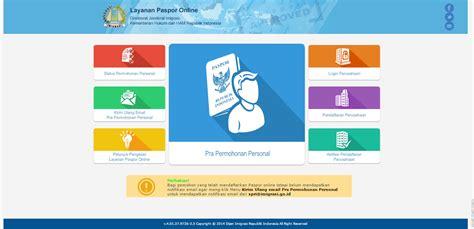 prosedur membuat paspor online pembuatan paspor online newhairstylesformen2014 com