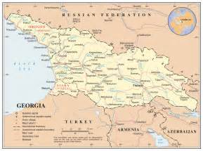 georgias map maps of detailed map of in