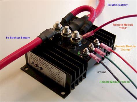 hellroaring battery isolator combiner bic 75300