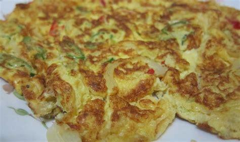 cara membuat omelet yang mudah cara memasak telur dadar yang mudah sedap azhan co