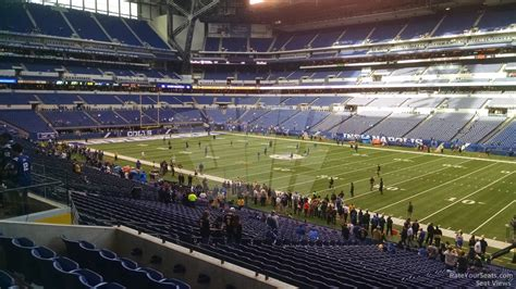lucas oil stadium sections lucas oil stadium section 209 indianapolis colts