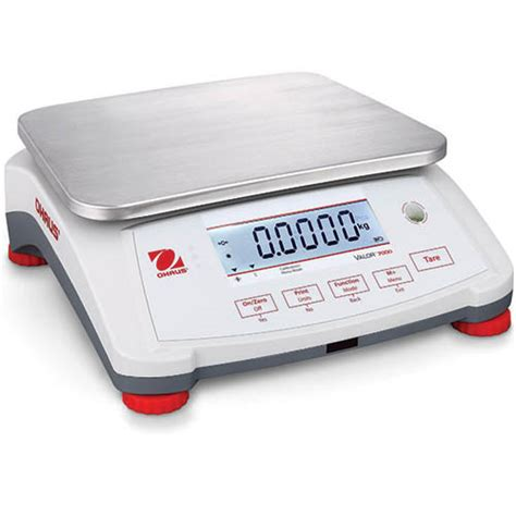 ohaus bench scales ohaus v71p15t valor 7000 compact bench scale 30lb 15kg