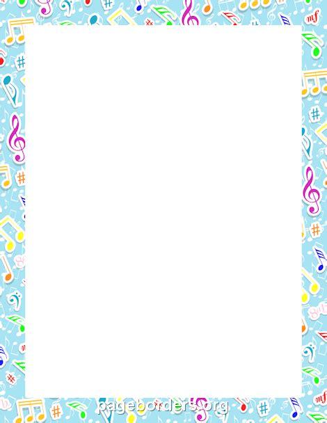 music notes border imprimir pinterest music notes
