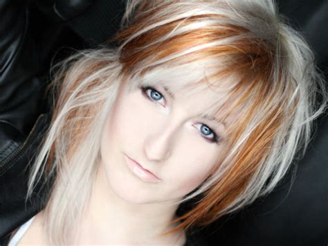 two tone color hair and styles for women gorgeous two tone hair color ideas medium hair styles