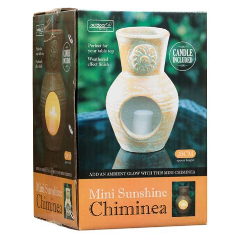 Mini Clay Chiminea B M