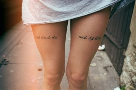 leg tattoo quotes tumblr drops of jupiter tattoo tuesday