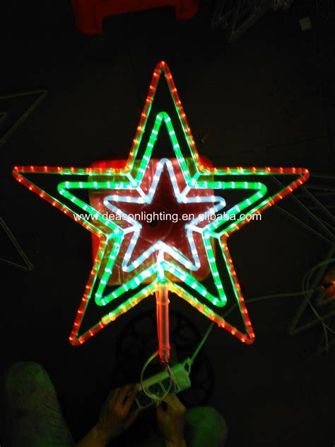 led bethlehem star light with white twinkle center 28