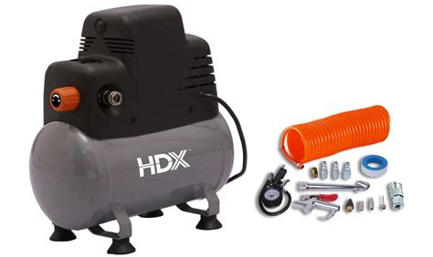 hdx 2 gallon portable free air compressor with