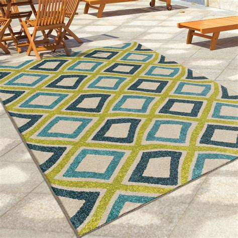 Large Outdoor Area Rugs Orian Rugs Indoor Outdoor Squares Broad Multi Area Large Rug 2348 8x11 Orian Rugs