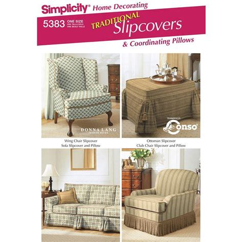 simplicity home decor patterns simplicity 5383 home decorating one size spotlight australia