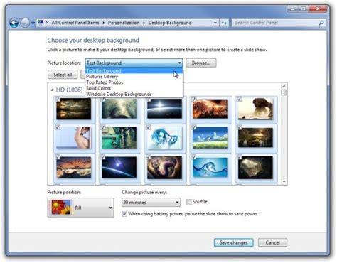 wallpaper rotator windows 7 select multiple picture folders for windows desktop